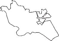 東京都大田区(おおたく)の白地図無料ダウンロード