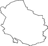 東京都杉並区(すぎなみく)の白地図無料ダウンロード