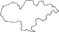 東京都豊島区(としまく)の白地図無料ダウンロード
