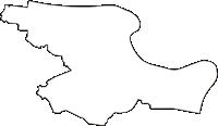 東京都荒川区(あらかわく)の白地図無料ダウンロード