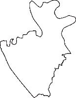 東京都葛飾区(かつしかく)の白地図無料ダウンロード