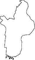 東京都江戸川区(えどがわく)の白地図無料ダウンロード
