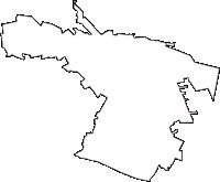 東京都立川市(たちかわし)の白地図無料ダウンロード