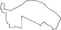 東京都武蔵野市(むさしのし)の白地図無料ダウンロード