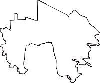 東京都三鷹市(みたかし)の白地図無料ダウンロード