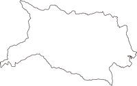 東京都青梅市(おうめし)の白地図無料ダウンロード