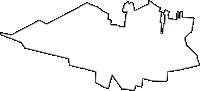 東京都小平市(こだいらし)の白地図無料ダウンロード