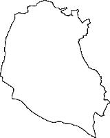 東京都狛江市(こまえし)の白地図無料ダウンロード