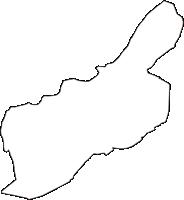 東京都清瀬市(きよせし)の白地図無料ダウンロード