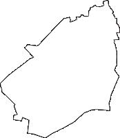 東京都西東京市(にしとうきょうし)の白地図無料ダウンロード