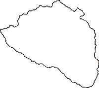 東京都西多摩郡檜原村(ひのはらむら)の白地図無料ダウンロード