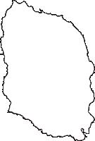 東京都大島支庁大島町(おおしままち)の白地図無料ダウンロード