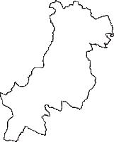 神奈川県横浜市戸塚区(とつかく)の白地図無料ダウンロード