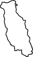 神奈川県横浜市瀬谷区(せやく)の白地図無料ダウンロード