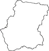 神奈川県横浜市都筑区(つづきく)の白地図無料ダウンロード