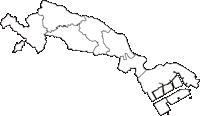 神奈川県川崎市川崎市(かわさきし)の白地図無料ダウンロード