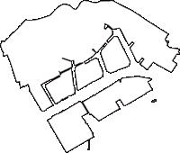 神奈川県川崎市川崎区(かわさきく)の白地図無料ダウンロード