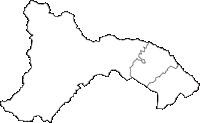 神奈川県相模原市相模原市(さがみはらし)の白地図無料ダウンロード