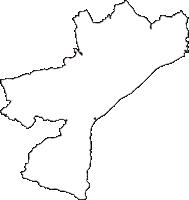 神奈川県小田原市(おだわらし)の白地図無料ダウンロード