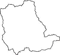 神奈川県秦野市(はだのし)の白地図無料ダウンロード