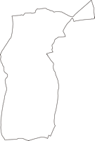 神奈川県海老名市(えびなし)の白地図無料ダウンロード