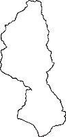 神奈川県足柄上郡松田町(まつだまち)の白地図無料ダウンロード
