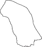 神奈川県足柄上郡開成町(かいせいまち)の白地図無料ダウンロード