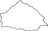 神奈川県足柄下郡湯河原町(ゆがわらまち)の白地図無料ダウンロード