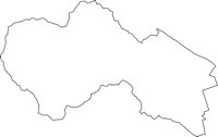 神奈川県愛甲郡愛川町(あいかわまち)の白地図無料ダウンロード