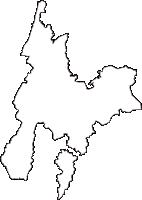 新潟県長岡市(ながおかし)の白地図無料ダウンロード