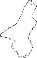 新潟県柏崎市(かしわざきし)の白地図無料ダウンロード