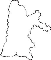 新潟県小千谷市(おぢやし)の白地図無料ダウンロード