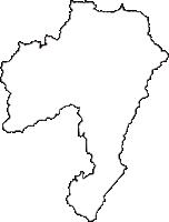 新潟県十日町市(とおかまちし)の白地図無料ダウンロード