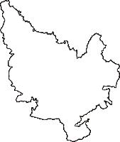 新潟県見附市(みつけし)の白地図無料ダウンロード