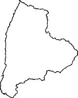 新潟県村上市(むらかみし)の白地図無料ダウンロード