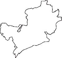 新潟県燕市(つばめし)の白地図無料ダウンロード