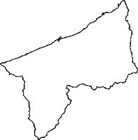 新潟県糸魚川市(いといがわし)の白地図無料ダウンロード