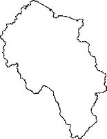 新潟県五泉市(ごせんし)の白地図無料ダウンロード