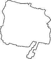 新潟県西蒲原郡弥彦村(やひこむら)の白地図無料ダウンロード