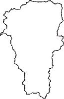 新潟県岩船郡関川村(せきかわむら)の白地図無料ダウンロード
