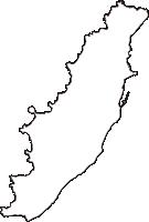 新潟県岩船郡粟島浦村(あわしまうらむら)の白地図無料ダウンロード