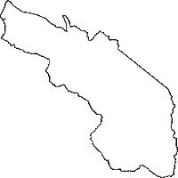 富山県黒部市(くろべし)の白地図無料ダウンロード