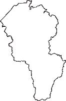石川県小松市(こまつし)の白地図無料ダウンロード