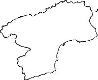 石川県珠洲市(すずし)の白地図無料ダウンロード