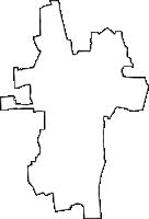 石川県石川郡野々市町(ののいちまち)の白地図無料ダウンロード