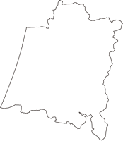 石川県羽咋郡宝達志水町(ほうだつしみずちょう)の白地図無料ダウンロード