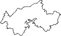 石川県鳳珠郡穴水町(あなみずまち)の白地図無料ダウンロード