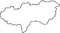 福井県越前市(えちぜんし)の白地図無料ダウンロード