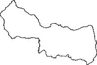 山梨県南アルプス市(みなみあるぷすし)の白地図無料ダウンロード