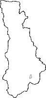 山梨県南巨摩郡早川町(はやかわちょう)の白地図無料ダウンロード